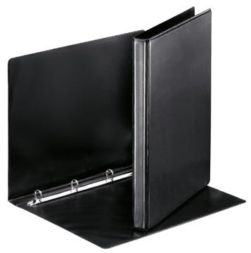Esselte personaliseerbare ringmap, rug van 3 cm, 4 O-ringen van 16 mm, zwart