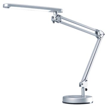 Hansa bureaulamp 4 Stars, LED-lamp, zilver