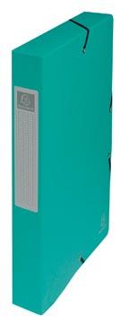 Exacompta boîte de classement Exabox vert, dos de 4 cm