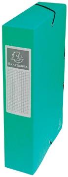 Exacompta boîte de classement Exabox vert, dos de 6 cm