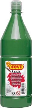 Jovi plakkaatverf, fles van 1000 ml, donkergroen