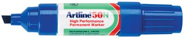 Permanent marker Artline 50 blauw