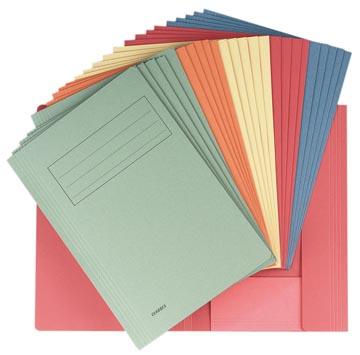 Class'ex dossiermap, ft 23,7 x 34,7 cm (voor ft folio), geassorteerde kleuren, pak van 25 stuks