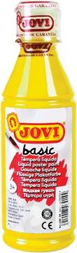 Jovi plakkaatverf, fles van 250 ml, geel