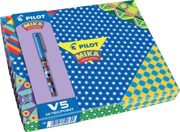 Pilot roller Hi-Tecpoint Mika Limited Edition, geschenkdoos met 6 rollers