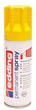 Edding permanent spray 5200, 200 ml, verkeersgeel mat
