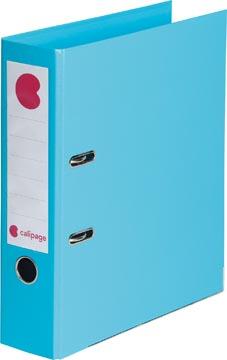 Calipage ordner, voor ft A4, volledig uit PP, rug van 8 cm, blauw