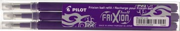 Pilot Vullingen voor Frixion Ball en Frixion Click paars