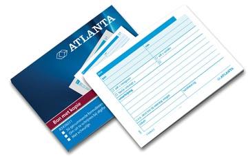 Atlanta by Jalema bonboekjes genummerd 1-50, 50 blad in tweevoud, zelfkopiërend