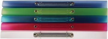 Exaclair Classeur personnalisable Kreacover 2 anneaux de 15 mm, couleurs assorties
