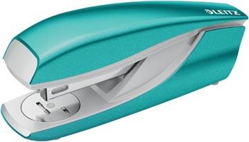 Leitz NeXXt WOW 5502 nietmachine, ijsblauw metallic, op blister