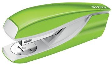 Leitz NeXXt WOW 5502 nietmachine, groen, op blister