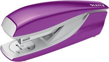 Leitz NeXXt WOW 5502 nietmachine, paars metallic, op blister