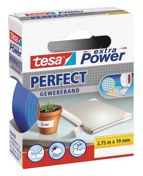 Tesa extra Power Perfect, ft 19 mm x 2,75 m, blauw