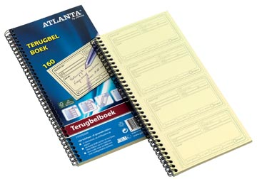 Atlanta by Jalema terugbelboeken 160 notities, zelfkopiërend, Nederlandstalig