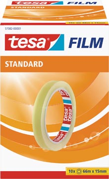 Tesafilm Standard, ft 66 m x 15 mm