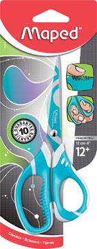 Maped schaar Zenoa Fit 15 cm, in geassorteerde kleuren, op blister