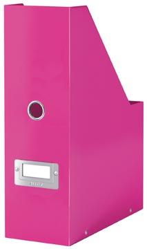 Leitz tijdschriftenhouder Wow Click & Store roze