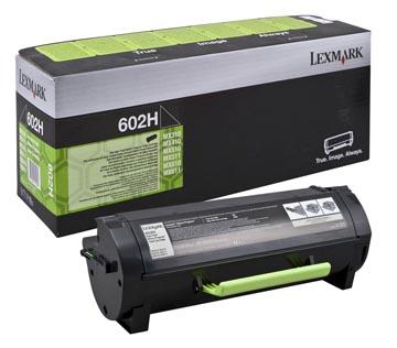 Lexmark Toner Kit zwart return program 602H - 10000 pagina's - 60F2H00