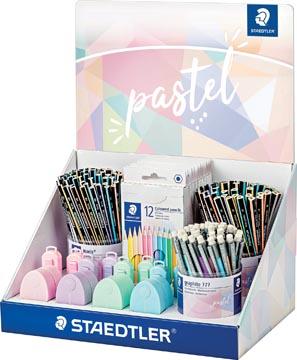 Staedtler présentoir de comptoir Assortiment pastel