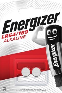 Energizer knoopcel LR54/189, blister van 2 stuks