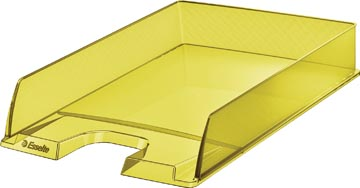 Esselte brievenbakje Colour'Ice, geel