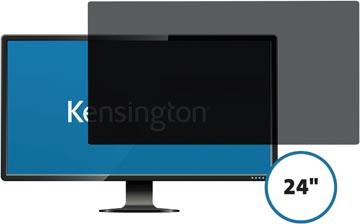Kensington privacy filter, dubbelzijdig, verwijderbaar, voor schermen van 24 inch, 16:10
