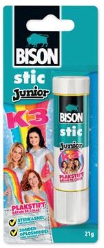 Bison Junior K3 bâton de colle 21 g, sous blister