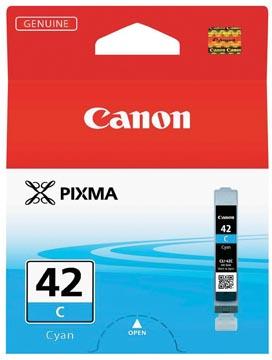 Canon inktcartridge CLI-42C, 600 foto's, 13 ml, OEM 6385B001, cyaan
