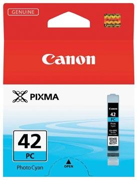 Canon inktcartridge CLI-42PC, 60 foto's, 13 ml, OEM 6388B001, foto cyaan