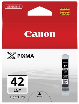 Canon inktcartridge CLI-42LGY, 835 foto's, 13 ml, OEM 6391B001, lichtgrijs
