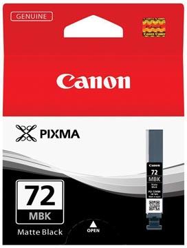 Canon inktcartridge PGI-72MBK, 1.640 foto's, 14 ml, OEM 6402B001, mat zwart
