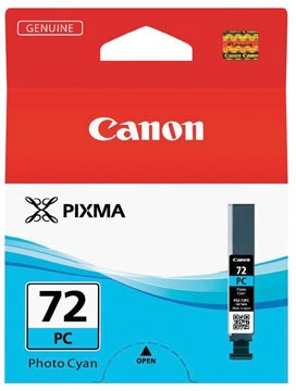 Canon inktcartridge PGI-72PC, 351 foto's, 14 ml, OEM 6407B001, foto cyaan