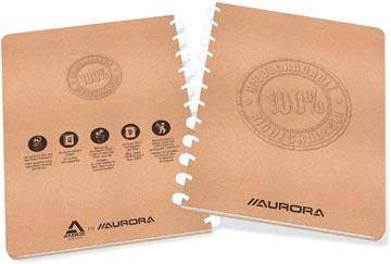 Adoc cahier Bio ft A4, 144 pages, quadrillé commercial 4 x 8 mm