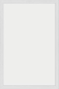 Securit krijtbord Woody, wit, ft 40 x 60 cm, hout met witte lakafwerking