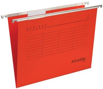 Atlanta hangmappen Alzicht Spectrum ft folio, V-bodem, rood