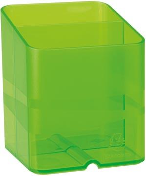 Exacompta pennenbakje PEN-CUBE, doorschijnend groen