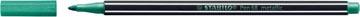 STABILO Pen 68 metallic viltstift, groen
