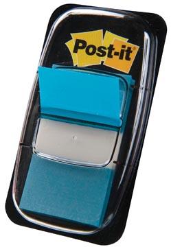 Post-it Index standard, ft 25,4 x 43,2 mm, turquoise, dévidoir avec 50 cavaliers