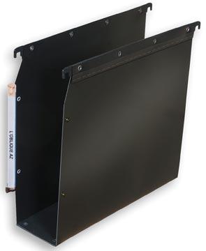 L'Oblique hangmappen voor kasten Ultimate bodem 80 mm, zwart