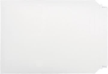 Bong pochette en carton plat, ft 250 x 353 mm, fermeture bande auto-adhésive, boîte de 100 pièces