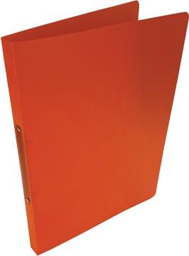 Alpha classeur à anneaux, pour ft A4, en PP, 2 anneaux de 16 mm, orange tranparent