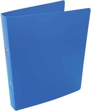 Alpha classeur à anneaux, pour ft A4, en PP, 2 anneaux de 25 mm, bleu