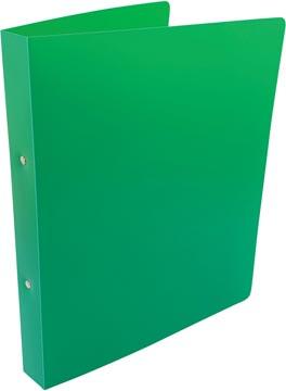 Alpha classeur à anneaux, pour ft A4, en PP, 2 anneaux de 25 mm, vert