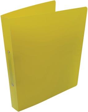 Alpha classeur à anneaux, pour ft A4, en PP, 2 anneaux de 25 mm, jaune