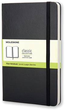 Moleskine notitieboek, ft 9 x 14 cm, effen, harde cover, 192 bladzijden, zwart