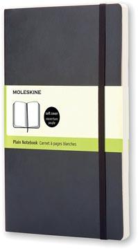Moleskine notitieboek, ft 9 x 14 cm, effen, soepele cover, 192 bladzijden, zwart