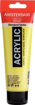 Talens acrylverf Amsterdam azogeel citroen