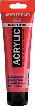 Talens acrylverf Amsterdam permanentrood purper