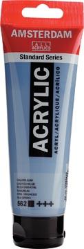 Talens peinture acrylique Amsterdam bleu grisâtre